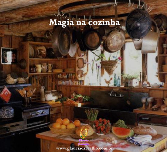 A magia na cozinha