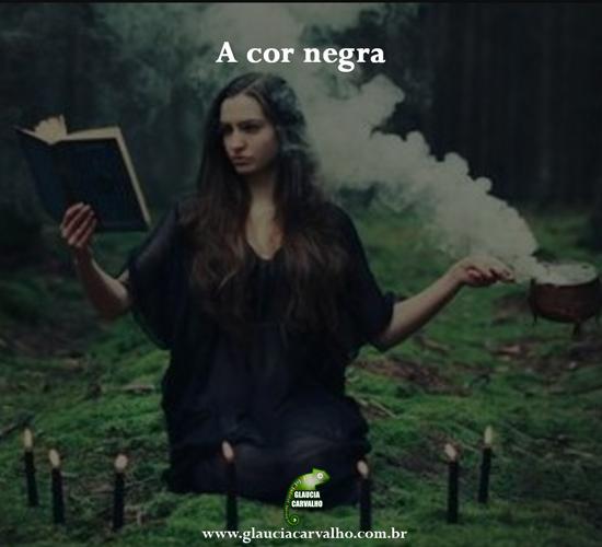 A cor negra