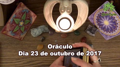 Oráculo – dia 23 de outubro de 2017