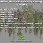 Banho de ervas para descarregar energias negativas