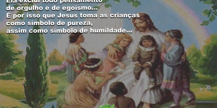 Salve a pureza das crianças, simbolos de humildade e simplicidade!!!