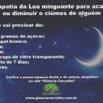 Simpatia da Lua minguante para acabar ou diminuir o ciúmes de alguém