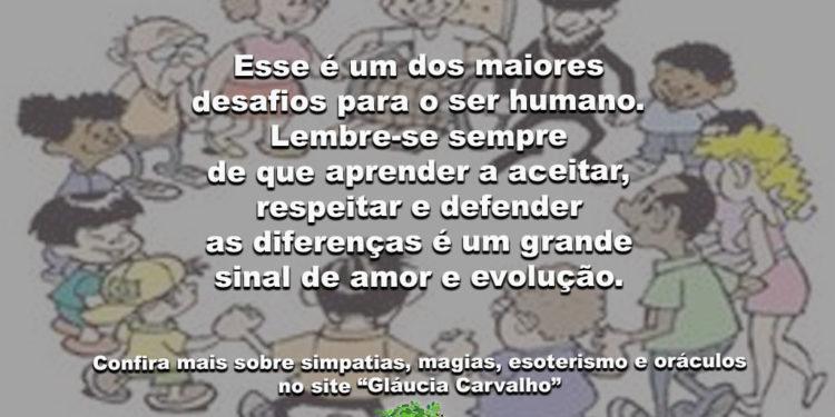 Conviver… Esse é um dos maiores desafios para o ser humano…