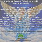 Oração ao Arcanjo Rafael para pedir por cura e saúde