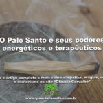 O Palo Santo e seus poderes energéticos e terapêuticos