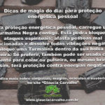Dicas de magia do dia: para proteção energética pessoal