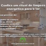 Confira um ritual de limpeza energética para o lar