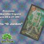 """Previsão do Baralho Cigano para 24 a 27.09: Carta """"O Jardim"""""""