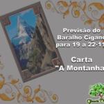 """Previsão do Baralho Cigano para 19 a 22-11: Carta """"A Montanha"""""""