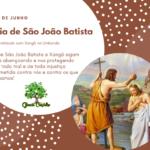 24 de junho, Dia de São João Batista, sincretizado com Xangô na Umbanda