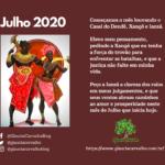 """Começamos Julho de 2020 louvando o """"Casal do Dendê"""" na Umbanda"""
