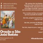 Oração a São João Batista, sincretizado com Xangô na Sagrada Umbanda