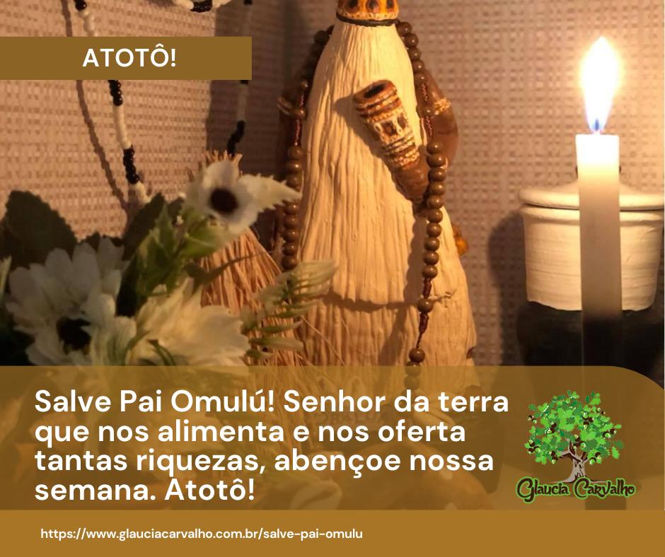 Salve pai Omulú!