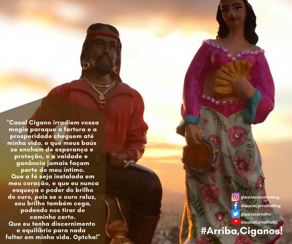 Ritual ao casal Cigano do Ouro para prosperidade