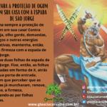 Tenha a proteção de Ogum em sua casa com a espada de São Jorge