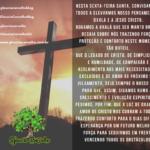 Nesta sexta feira santa, louvamos e agradecemos o legado de Cristo